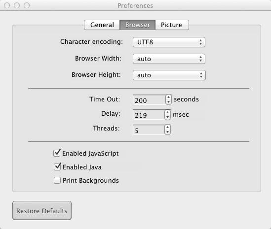 Mac HTML to PDF Converter - convert HTML to PDF and URL to PDF on Mac OS